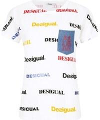 cd92ece2b19 Desigual сини спортен риза Tee Tech Bio Patching. Размер само L. Детайли за  продукта. Desigual Тениска KENDALL   Relaxed fit
